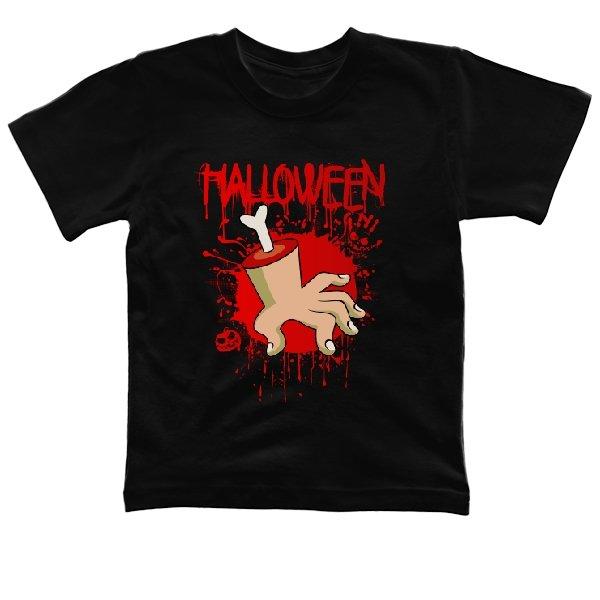 Детская футболка Хэлоуин Рука в крови