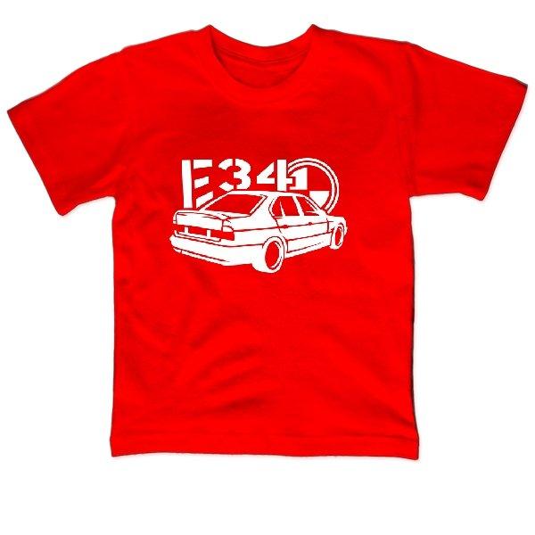 Детская футболка BMW E34