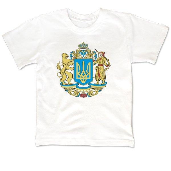 Детская футболка Большой Герб Украины