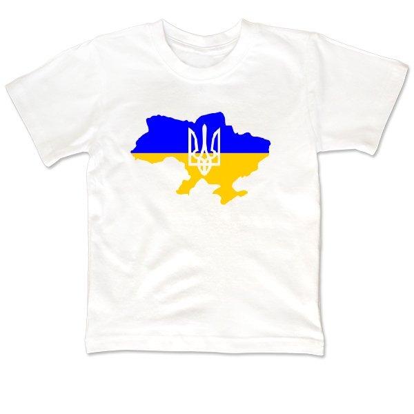 Детская футболка Карта с Трезубцем