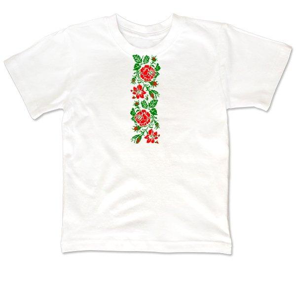 Детская футболка Женская Вышиванка