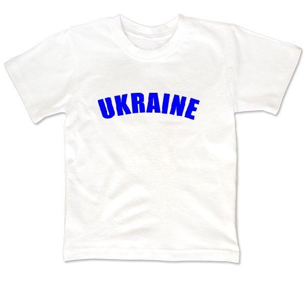 Детская футболка Надпись Ukraine