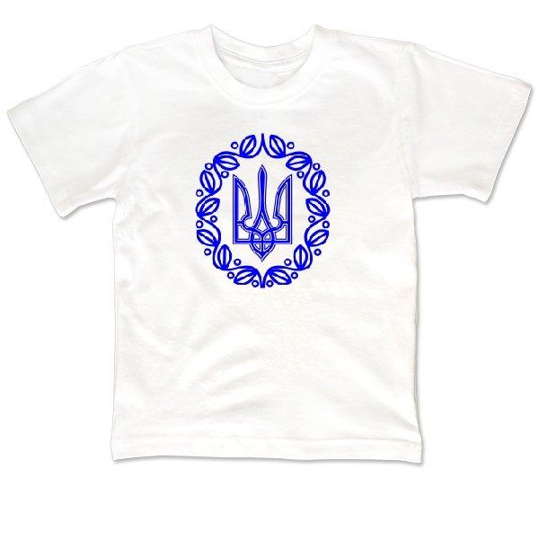 Детская футболка С символикой Украины