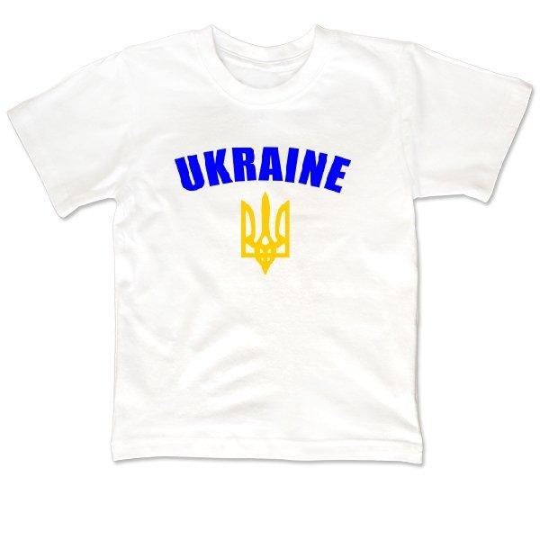 Детская футболка Трезубец с надписью