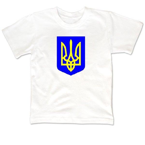 Детская футболка Герб Трезубец
