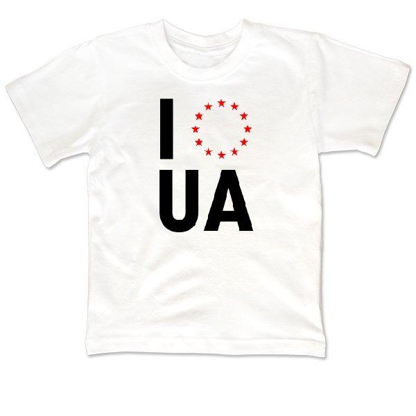 Детская футболка Объединение с Евросоюзом