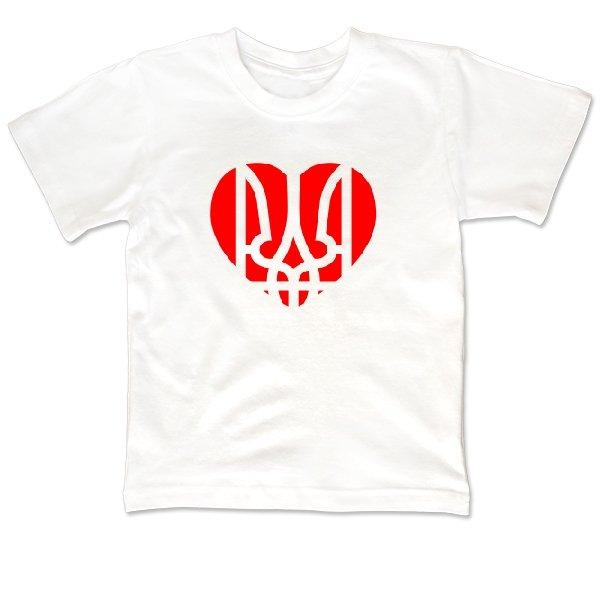 Детская футболка Украина в Сердце