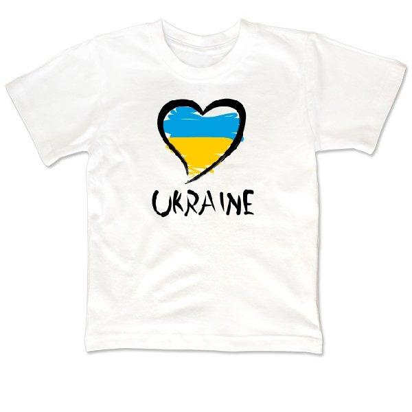 Детская футболка Сердце Ukraine