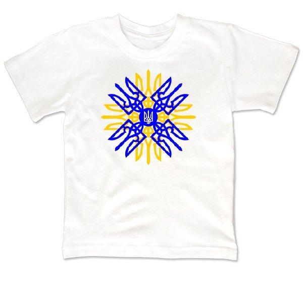 Детская футболка Українське Сонце