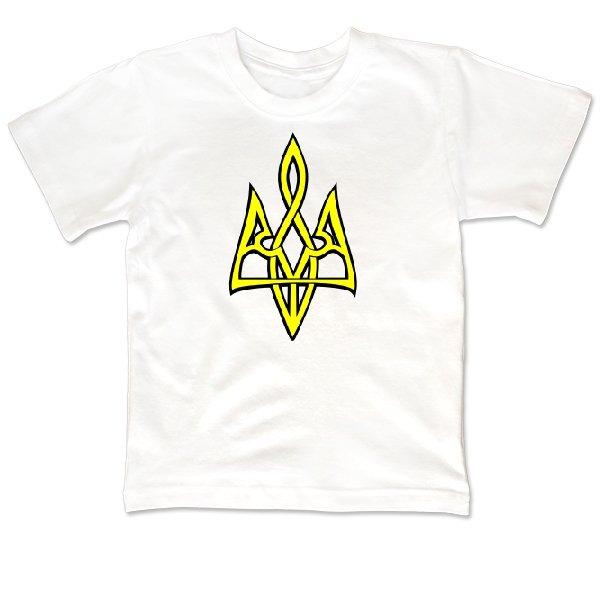 Детская футболка Трезубец 3D