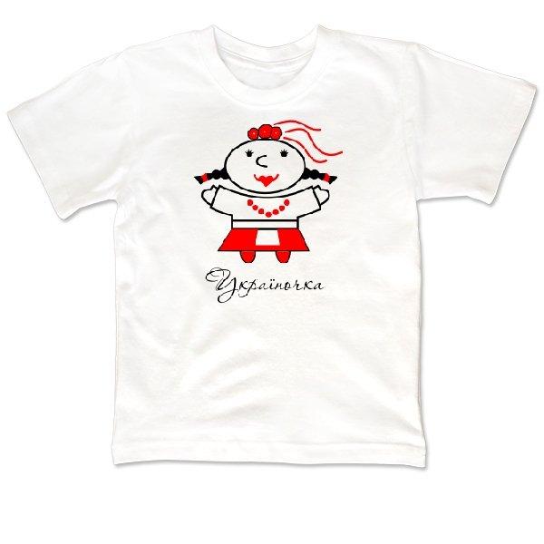 Детская футболка Україночка