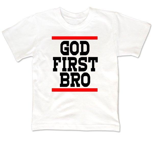 Детская футболка Сначала Бог