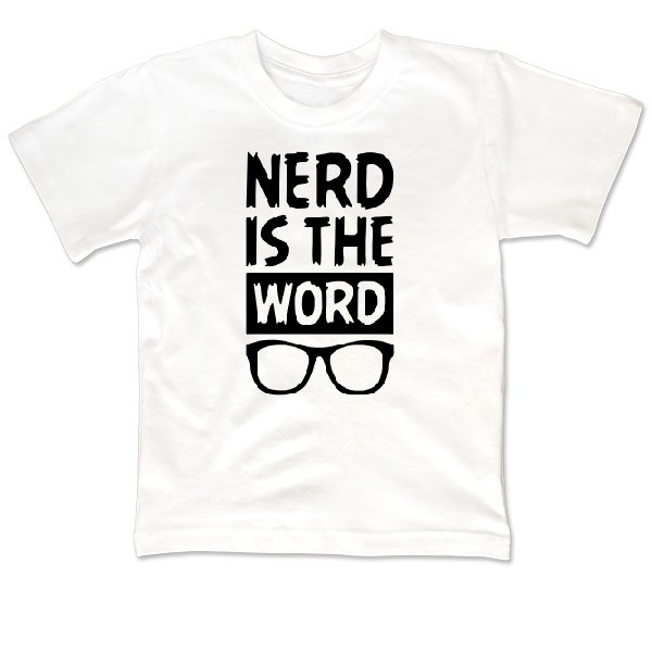 Детская футболка Ботан это Слово