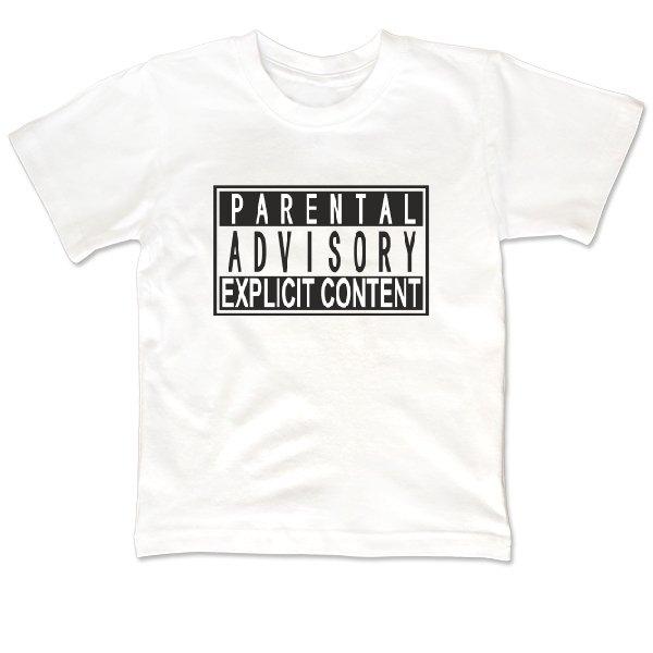 Детская футболка Parental Advisory
