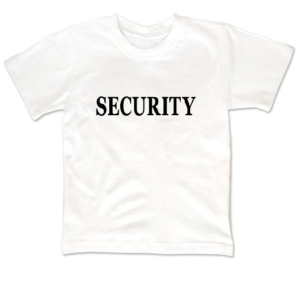 Детская футболка Security