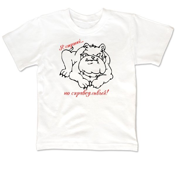 Детская футболка Строгий но Справедливый