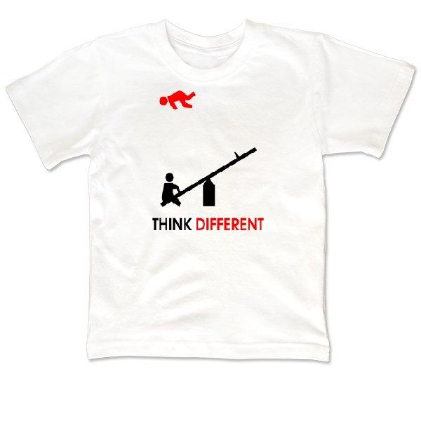 Детская футболка Думай по-другому