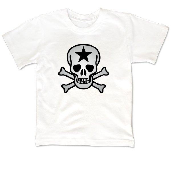 Детская футболка Череп со звездой