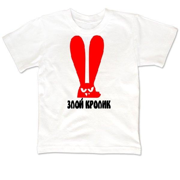 Детская футболка Злой Кролик
