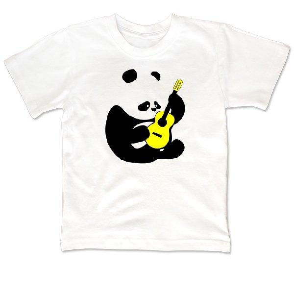 Детская футболка Панда с Гитарой