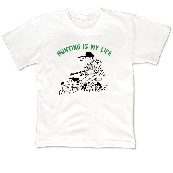 Детская футболка Охота моя жизнь