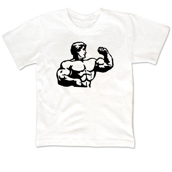 Детская футболка Бицепс