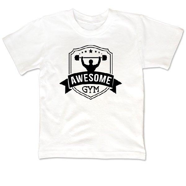 Детская футболка Awesome Gym