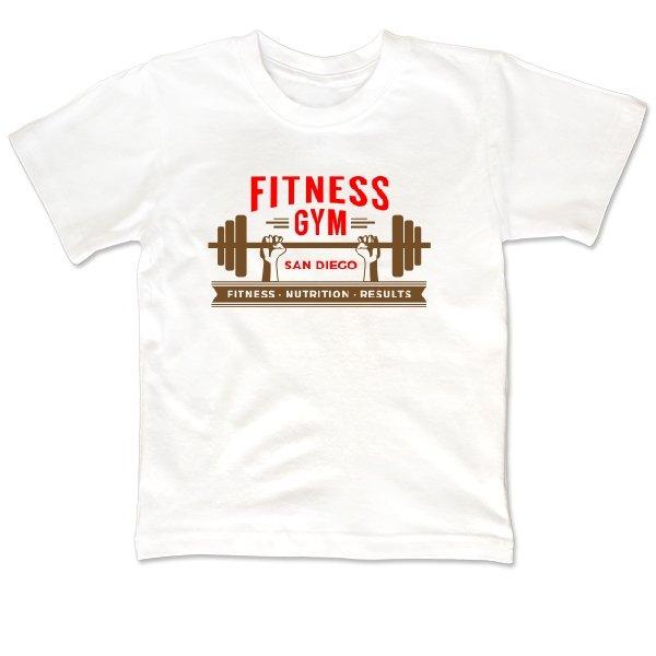 Детская футболка Fitness Gym