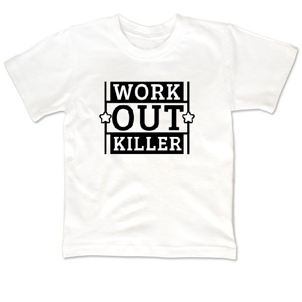 Детская футболка Work Out Killer