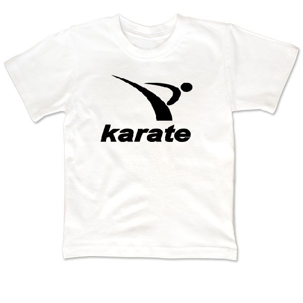 Детская футболка Karate лого