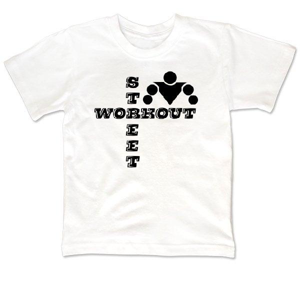 Детская футболка Надпись Street Workout