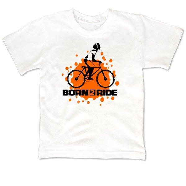 Детская футболка Born 2 Ride