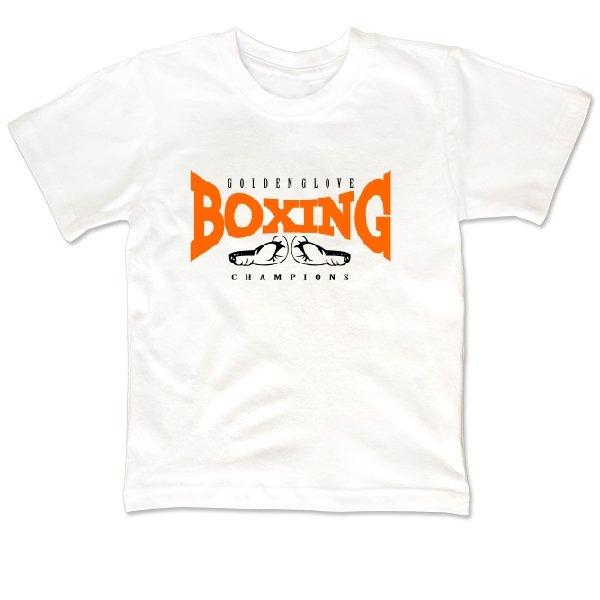 Детская футболка Бокс - Золотая Перчатка