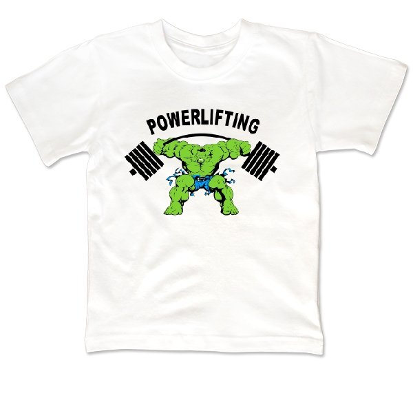 Детская футболка Powerlifting