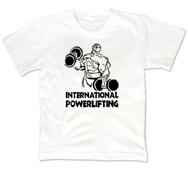 Детская футболка International Powerlifting