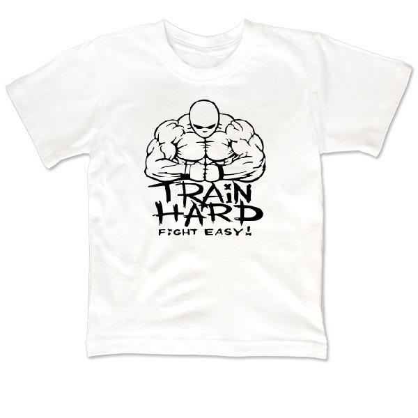 Детская футболка Train Hard Fight Easy