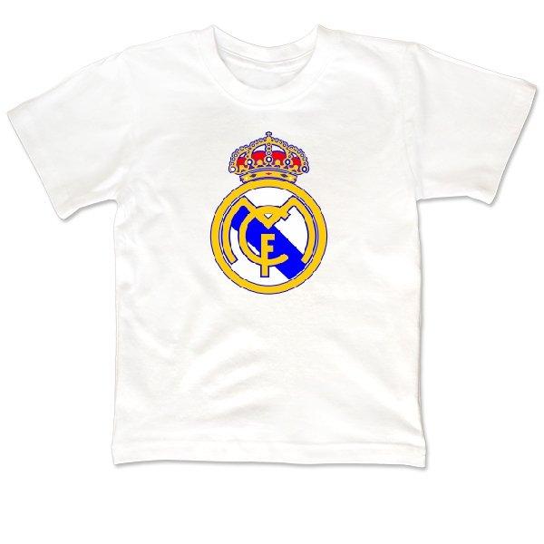 Детская футболка FC Real Madrid
