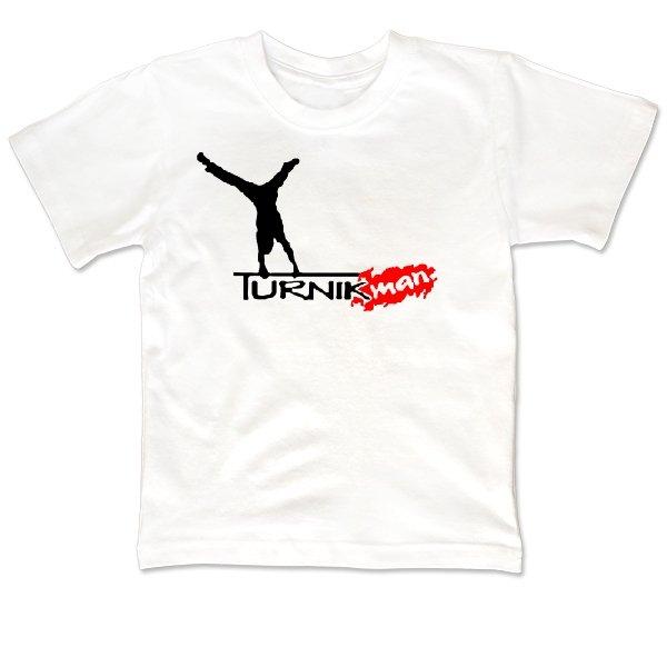 Детская футболка Турник man