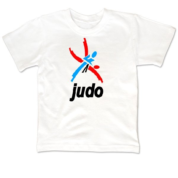 Детская футболка Логотип Дзюдо