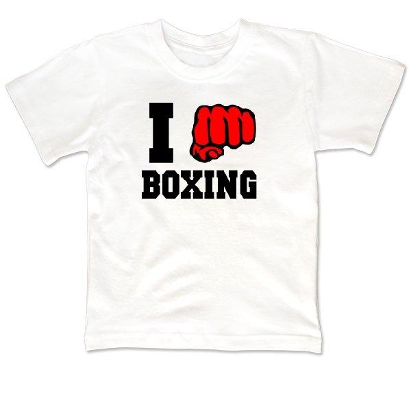 Детская футболка Я Боксер