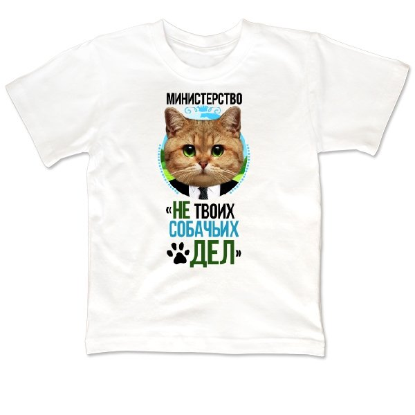 Детская футболка Министерство