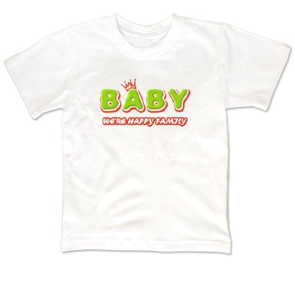 Детская футболка Ребенок счастливой семьи