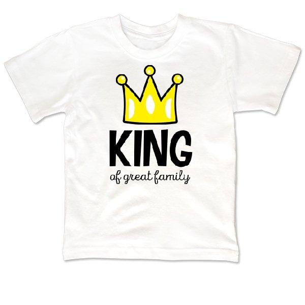 Детская футболка Король большой семьи