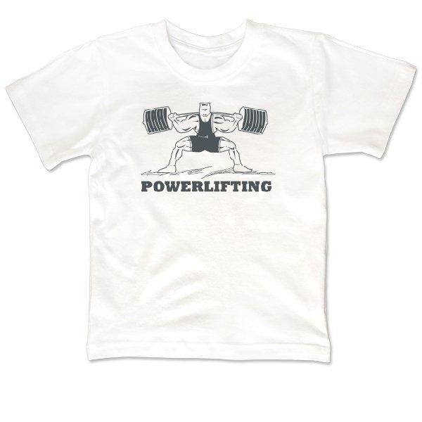 Детская футболка Powerlifting Стойка