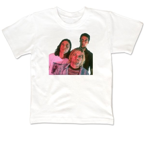 Детская футболка Nirvana фото