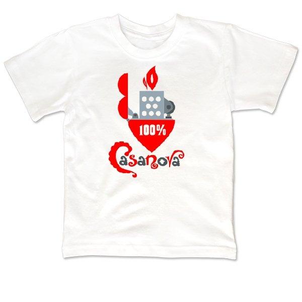 Детская футболка Казанова