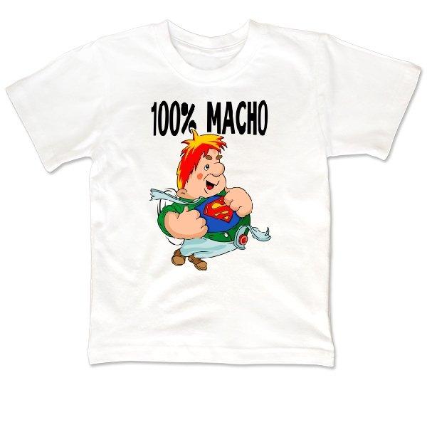 Детская футболка 100% Мачо