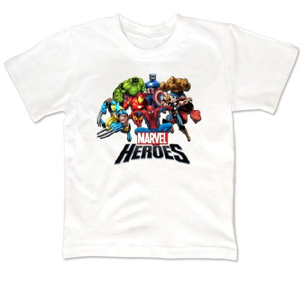 Детская футболка Герои Marvel