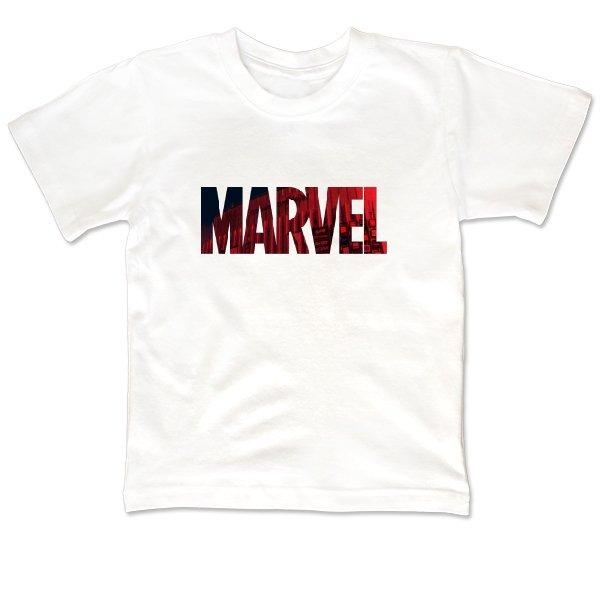 Детская футболка Marvel logo