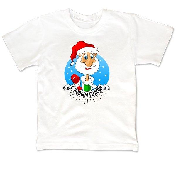 Детская футболка Дедушка мороз